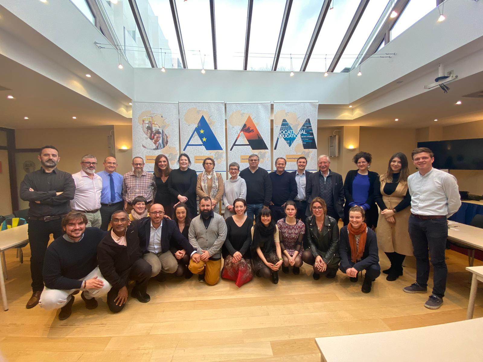 """Meeting zero"": SAAM project starts in Brussels"