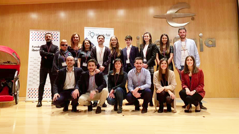 Mundus sponsors the annual Ideas for Zaragoza event