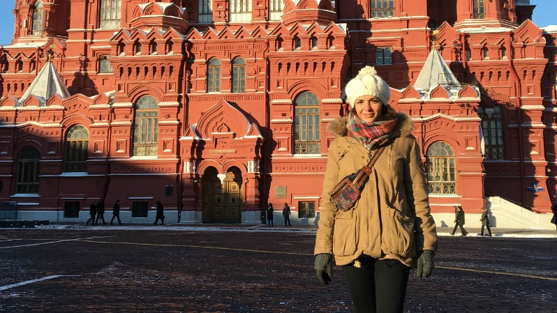 "Ruth Palacios: ""From Moscow with love"""