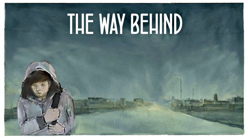 """The way behind"", a project to raise awareness about the situation of refugees"