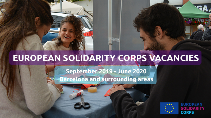 Call for ESC volunteers 2019