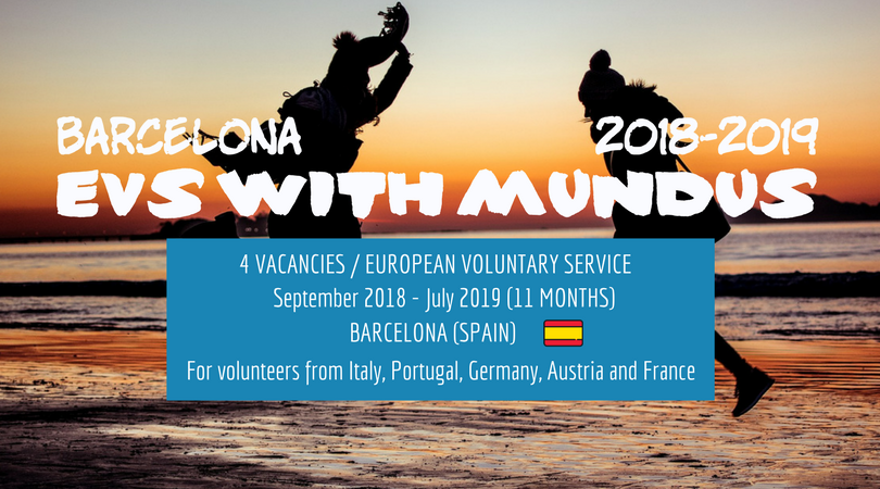GO EVS in Barcelona with MUNDUS in 2018-2019!